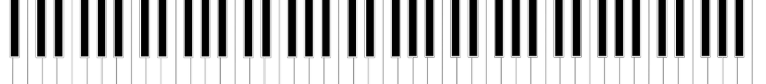 Separator image depicting a piano keyboard, from the article by composer of video game music Winifred Phillips.