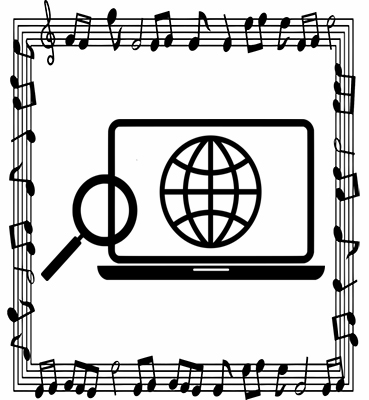 This graphic is used in a discussion of web presence as a tool for aspiring game music composers. This article was written by video game music composer Winifred Phillips.