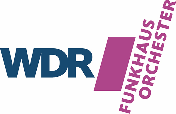 The logo image for the WDR Funkhaus Orchestra, from the article written by Winifred Phillips (composer of video game music).